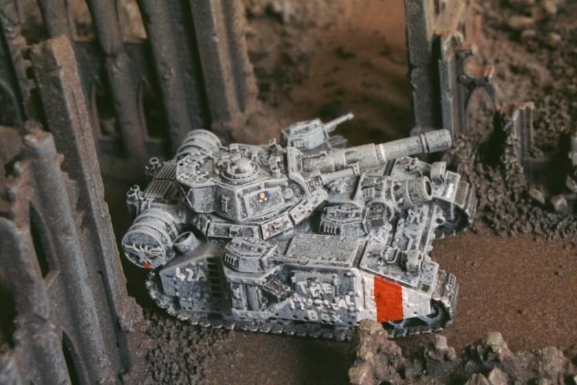 Forge World resin Epic Baneblade