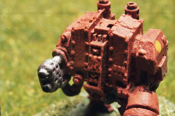 Close-up of Imperial Dreadnought.