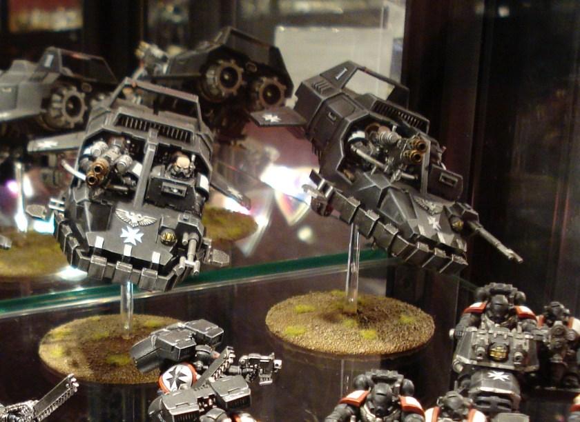 Black Templars Land Speeders