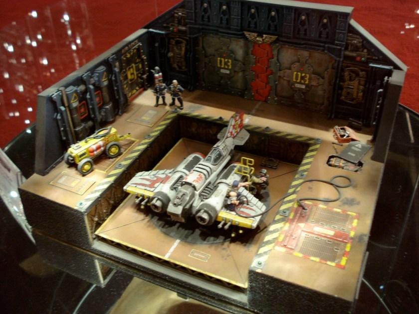 Dave Andrews' excellent Thunderbolt diorama, with a scratchbuilt Thunderbolt