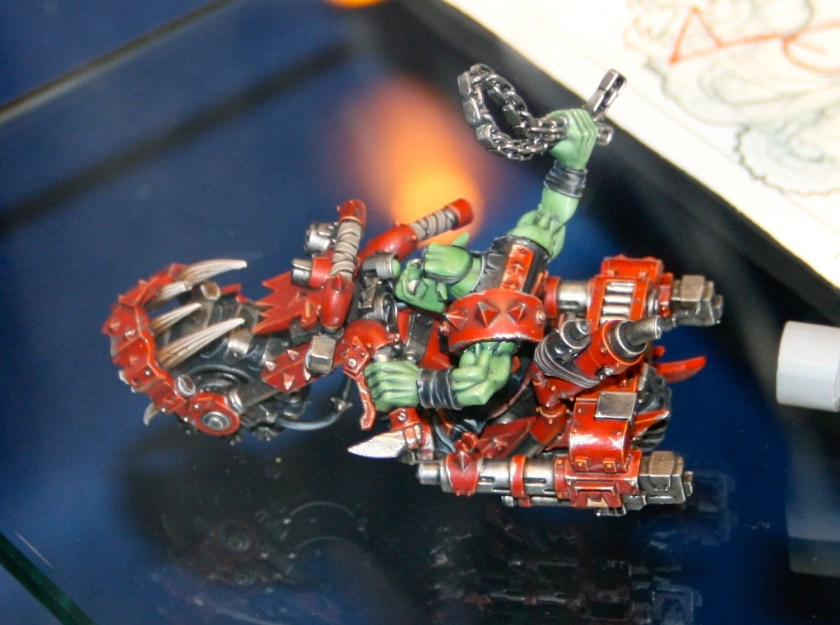 Ork Warbike from GamesDay 2007.