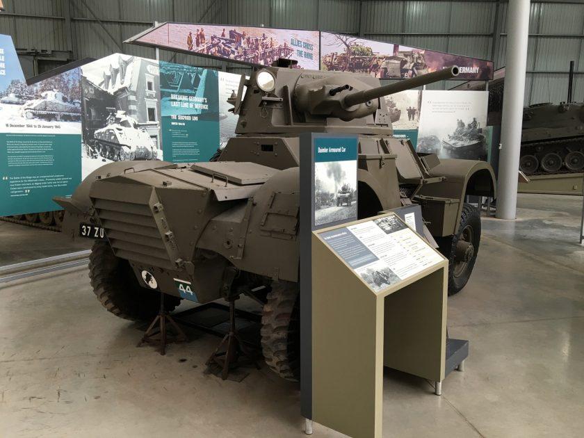 Daimler Mark II Armoured Car