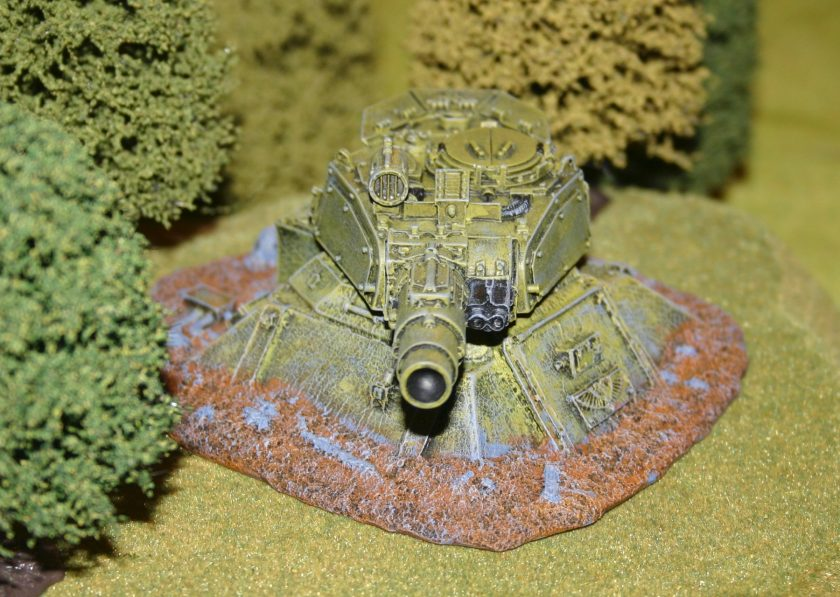 Forge World Imperial Gun Emplacement