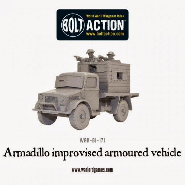 Bolt Action Armadillo Improvised Armoured Vehicle
