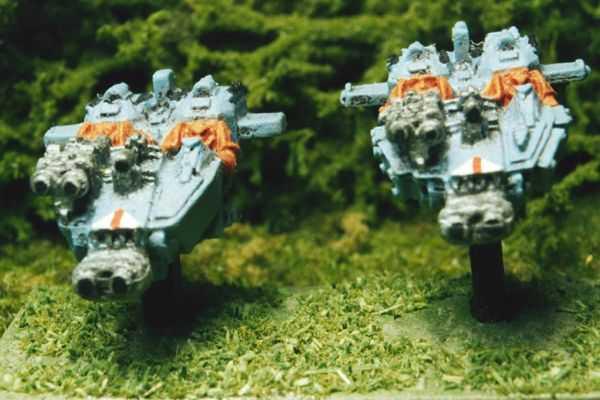 Space Marine Land Speeders