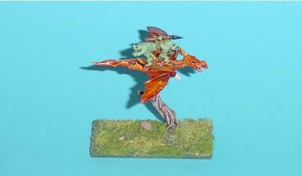Warmaster Lizardmen Terradon