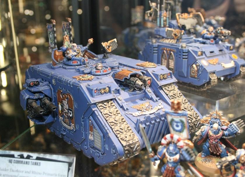 Ultramarines Land Raider Excelsior