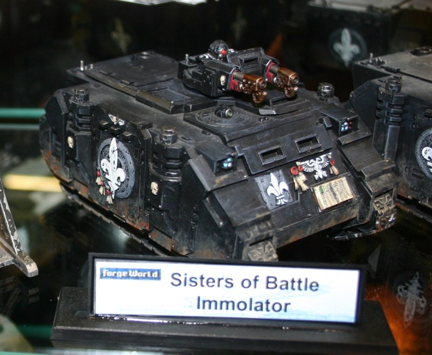 Sisters of Battle Immolator