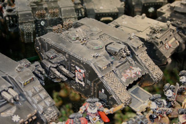 Black Templars Land Raider at Warhammer World