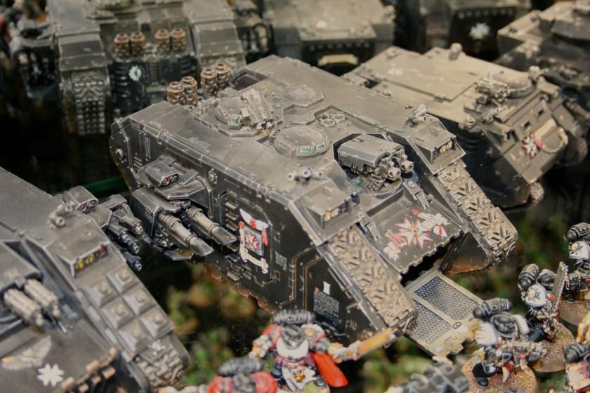 Black Templars Land Raider at Warhammer World