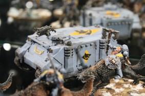 Space Wolves Rhino at Warhammer World