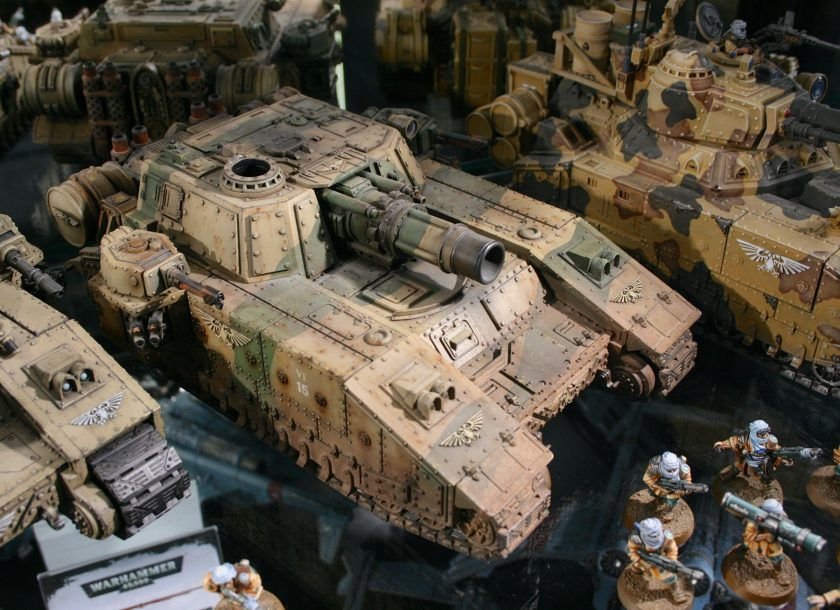 Tallarn Stormsword at Warhammer World