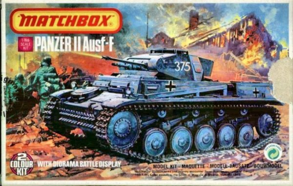 Matchbox Panzer II box art
