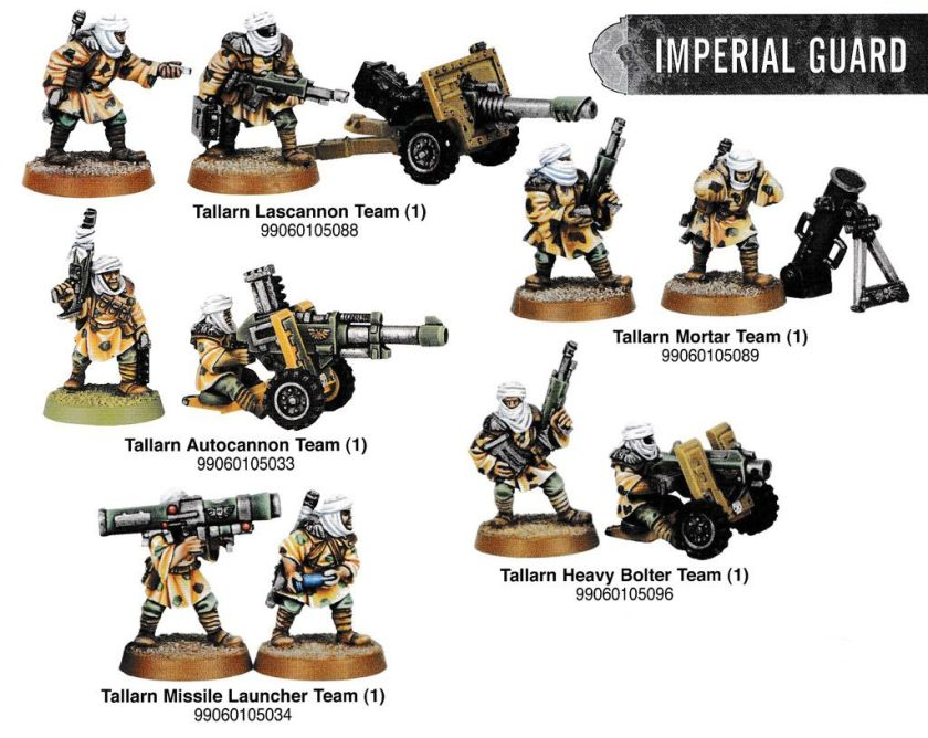 Tallarn Heavy Weapons