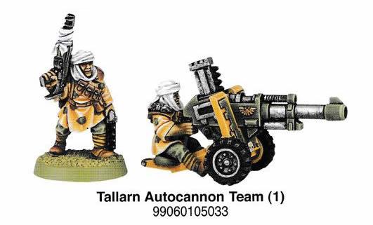 Tallarn Imperial Guard Autocannon