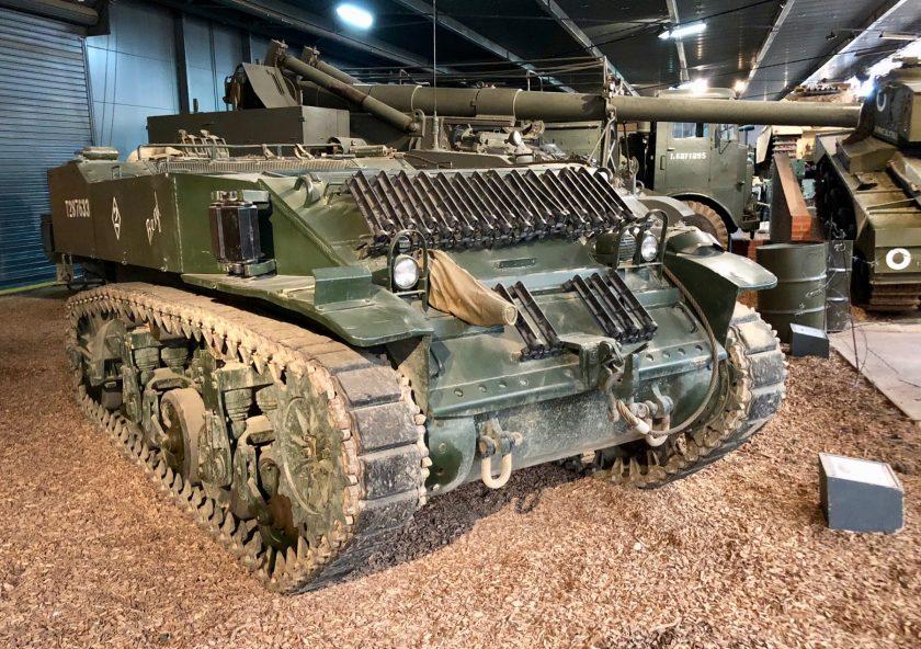 M5 Combat Vehicle Stuart Gun Tractor