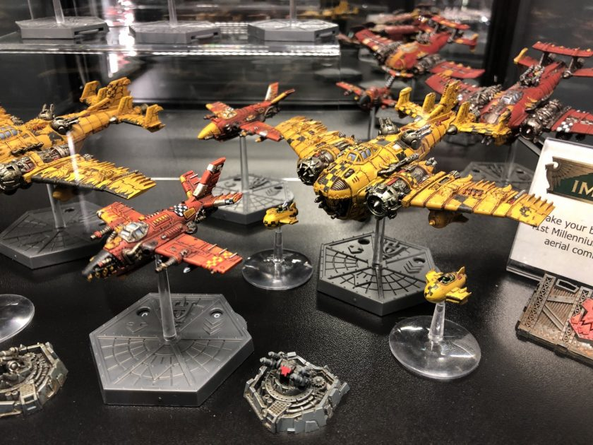 Aeronautica Imperialis Ork flyers from Warhammer World