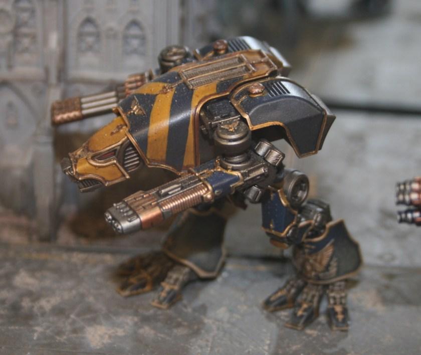 Adeptus Titanicus Warhound Scout Titan