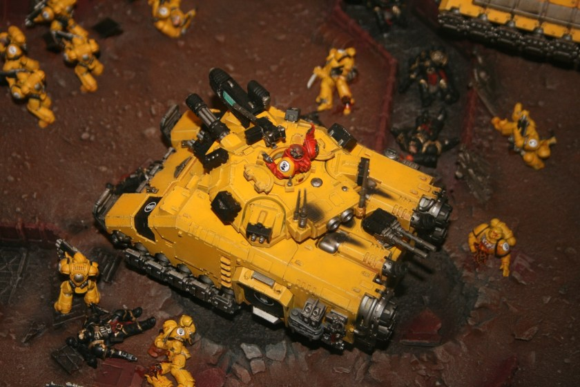 Imperial Fists Primaris Repulsor