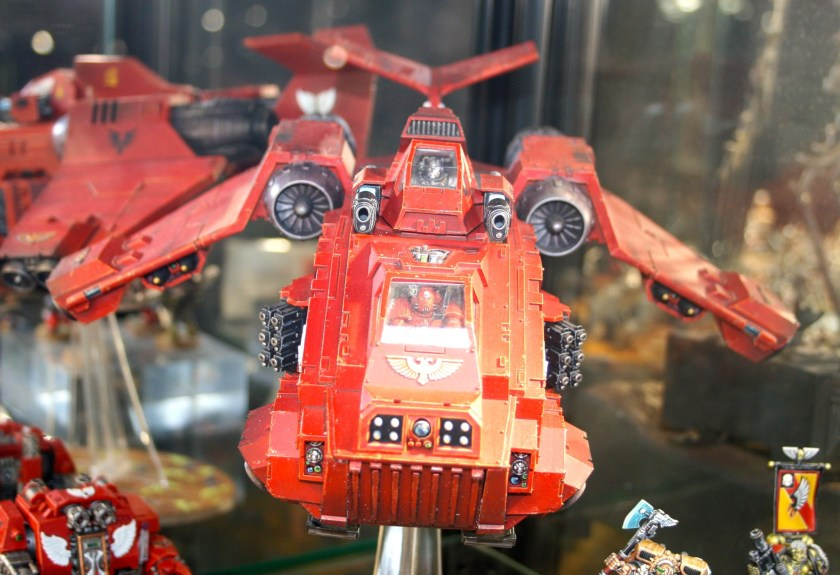Space Marine Stormraven at Warhammer World.