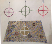 THE NEW ALTAR CLOTH TAKES SHAPE!