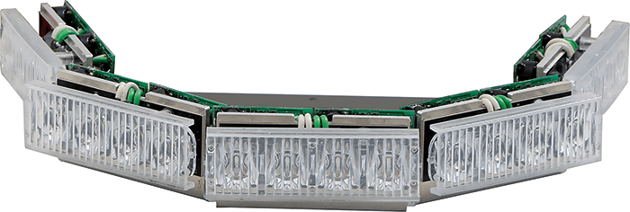 Latest LED modules can offer dual colour output without compromising on intensity.