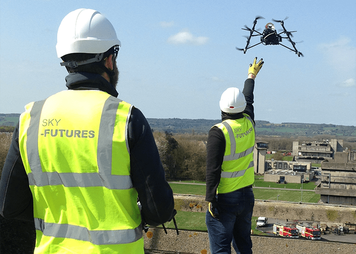 Sky-Futures Launch Specialist Unmanned Aerial Vehicle (UAV) Training Academy for the Emergency Services