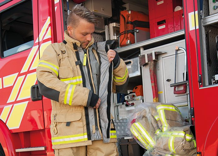 VIKING Guardian – DuPont™ Nomex® partner develops suit innovation to protect firefighters