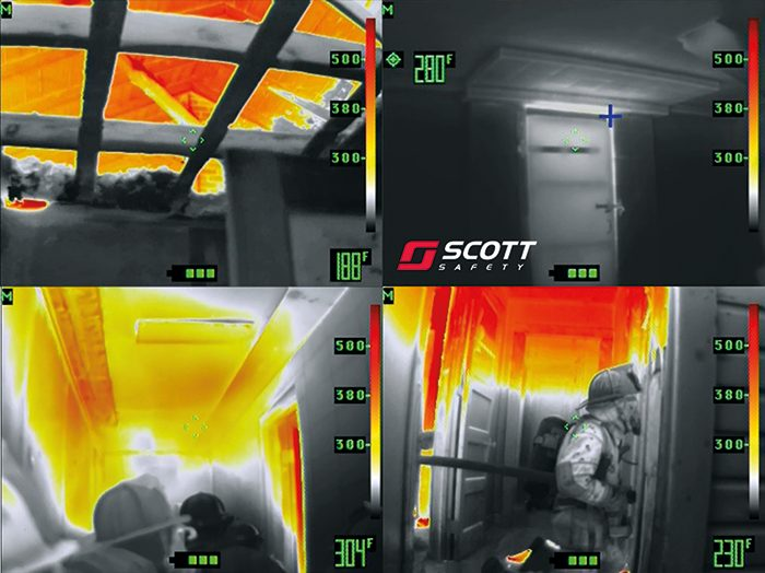 Scott Safety introduces CODFM; the first ever telemetry system to attach to a thermal imaging camera.