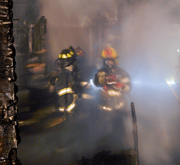 The hard work and conditions of firefighting mean that evidence can and often is inadvertently compromised by firefighters.