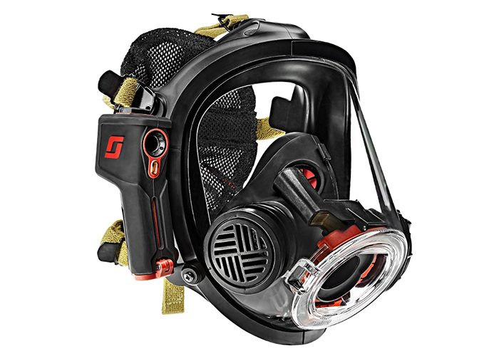 Tyco's Scott Safety unveil the first in-mask thermal intelligence system for the firefighting industry at FDIC International show
