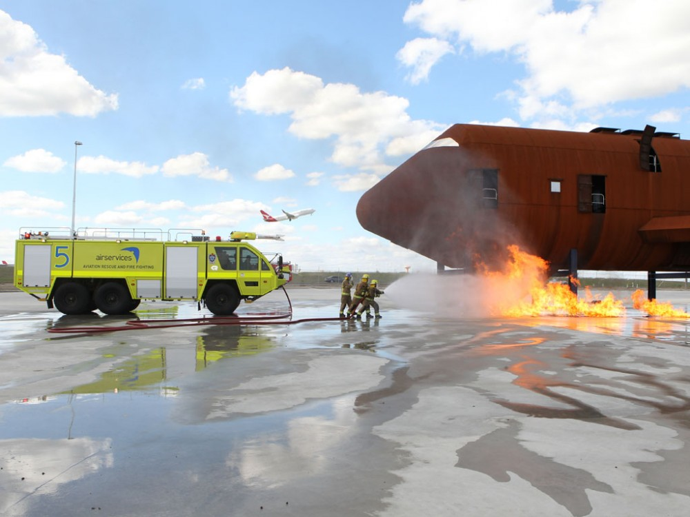 Airservices recognises aviation fire fighters on a special day