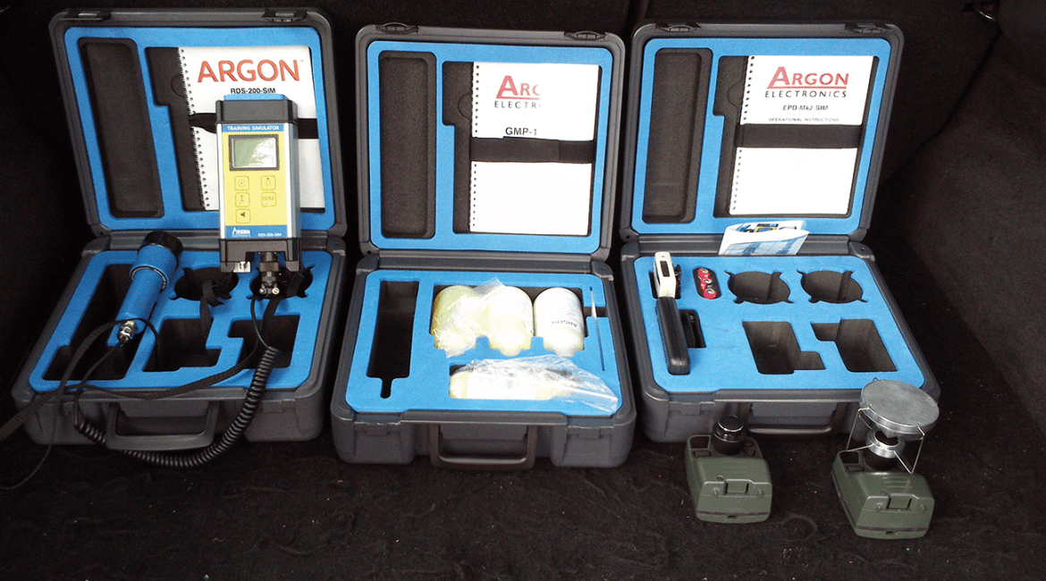 Simulation Training kit supplied by ARGON Electronics.