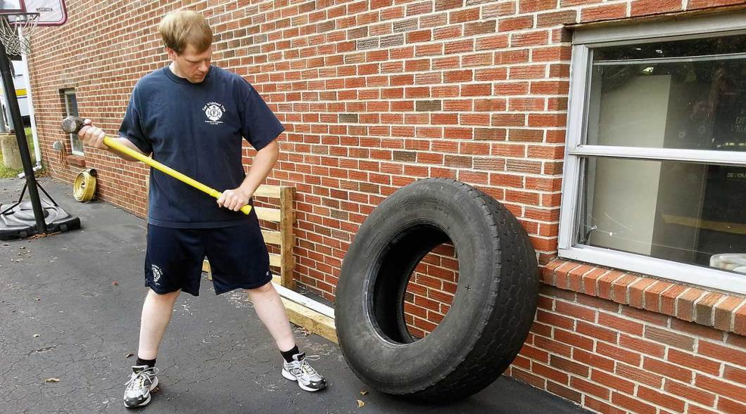 Combining functional strength and cardiovascular capacity is the essence of functional fitness for firefighters.