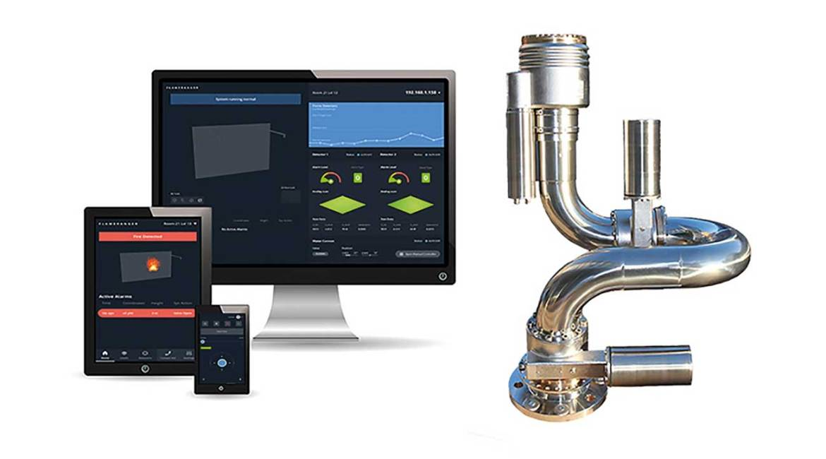 InterAct enables any device with authorization to monitor and control the FlameRanger system.