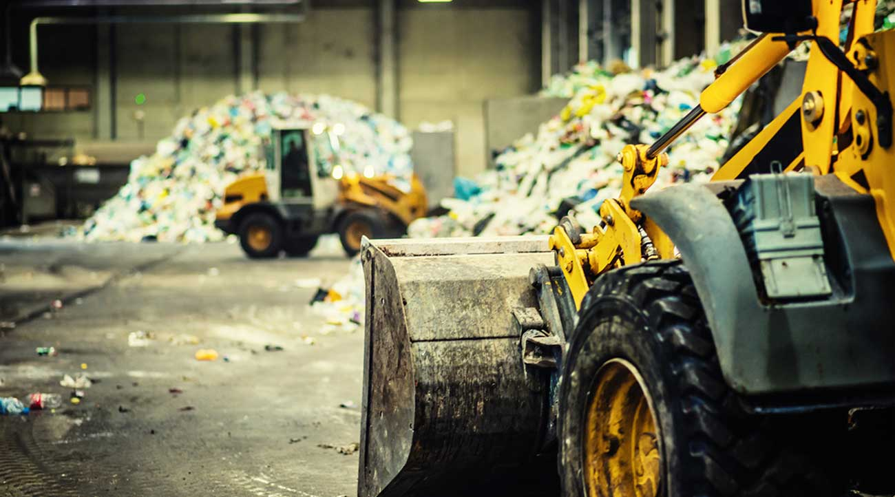 Fires are common in waste recycling centres due to the vast piles of flammable materials, which can be difficult to extinguish.
