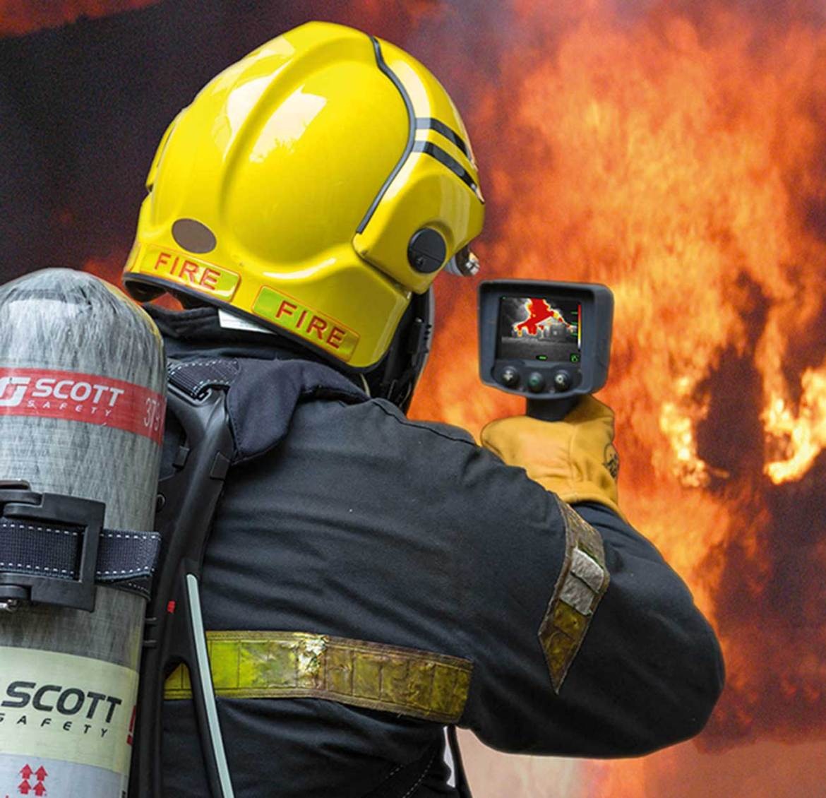 Improving situational awareness with thermal imaging technology.