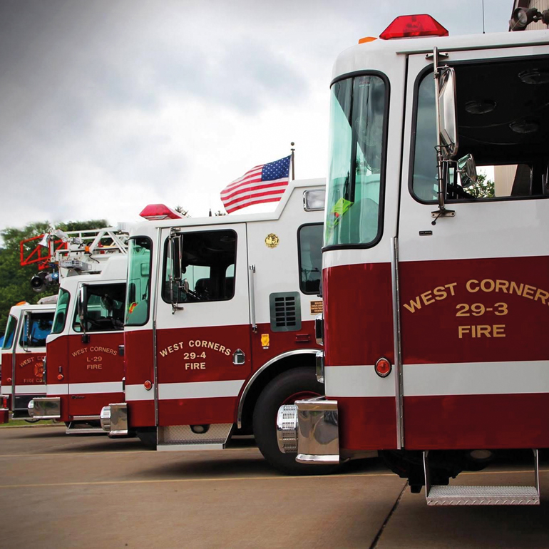 West Corners Fire Department is always prepared to serve, protect and respond to any alarm. (Image courtesy of West Corners Fire Department, Endicott, New York)