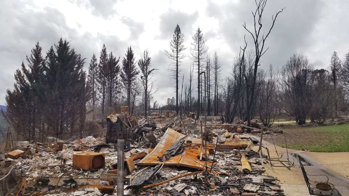 The 2018 Camp Fire destroyed most of Paradise, located in northern California. The wildfire was the costliest global disaster in 2018, consuming 18,000 structures and tragically taking 85 lives. Prioritizing community resiliency in the interest of people, property, and preparedness, is a key component of Outthink Wildfire™