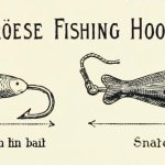 Faroese fishing hooks (1898): Snatch hook and Cod hook with tin bait