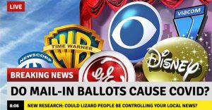 Breaking News: Do Mail-in Ballots Cause COVID?