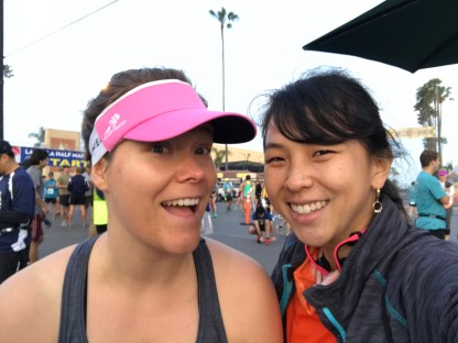 My friend Amanda who is completing the Triple Crown Challenge this year! Go Amanda!