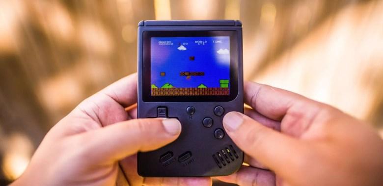 8 bit Mario - Gameboy