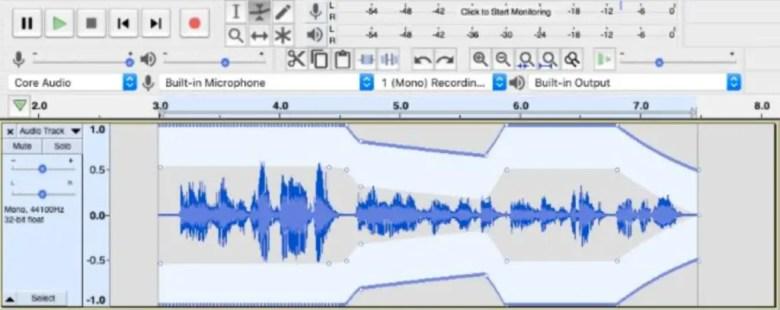 Amplifying audio in Audacity
