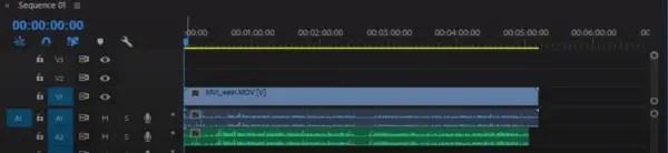 Sync audio in Premiere Pro