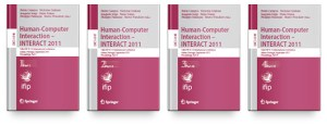 TC 13 International Conference Human-Computer Interaction (INTERACT 2011) Books