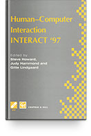 TC 13 International Conference Human-Computer Interaction (INTERACT 97) Books