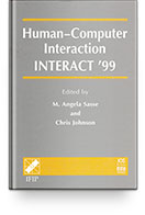 TC 13 International Conference Human-Computer Interaction (INTERACT 99) Books