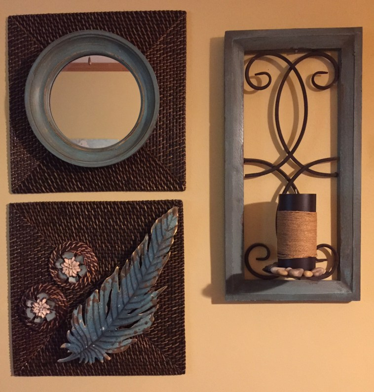 Placemat Wall Arrangement