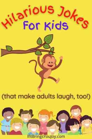 Monkey hilarious jokes for kids
